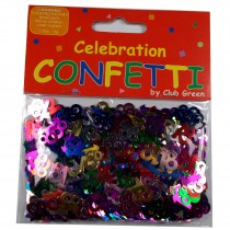 Club Green Celebration Table Confetti 3 x 14g packs of 18s