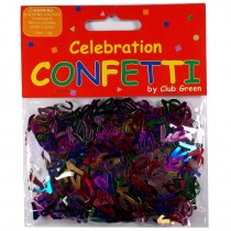 Club Green Celebration Table Confetti 1 x 14g pack of 21s