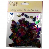 Club Green Celebration Table Confetti 5 x 14g packs of Balloons