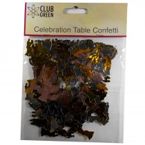 Club Green Celebration Table Confetti 3 x 14g packs of Bride and Grooms
