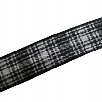 Berisfords Tartan Plaid Polyester Ribbon 16mm wide Menzies 1 metre length