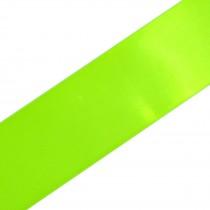 Double Satin Ribbon 10mm wide Neon Green 3 metre length