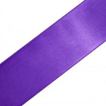 Double Satin Ribbon 3mm wide Purple 3 metre length