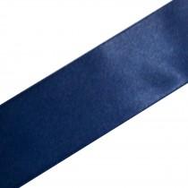 Double Satin Ribbon 3mm wide Navy Blue 3 metre length