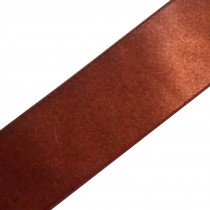 Double Satin Ribbon 25mm wide Cappuccino 3 metre length