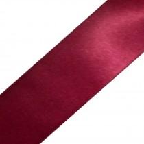 Double Satin Ribbon 10mm wide Wine 3 metre length
