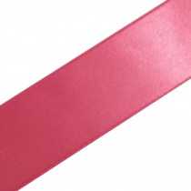 Double Satin Ribbon 38mm wide Dusky Pink 3 metre length