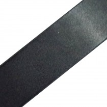 Double Satin Ribbon 3mm wide Charcoal 3 metre length