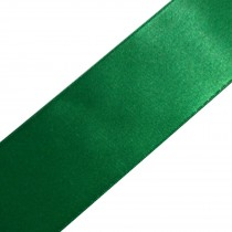 Double Satin Ribbon 10mm wide Bottle Green 3 metre length