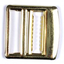 Metal Waistcoat Vest Buckle 2.7cm x 2.7cm Gold Pack of 1