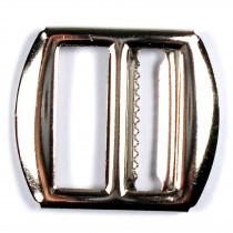 Metal Waistcoat Vest Buckle 3cm x 2.7cm Silver Pack of 1