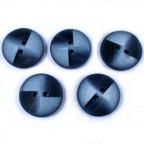Windmill 2 Hole Buttons 23mm Blue Pack of 5
