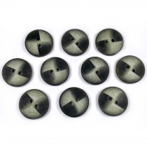 Windmill 2 Hole Buttons 23mm Green Pack of 10