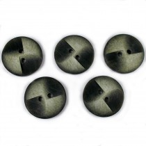 Windmill 2 Hole Buttons 23mm Green Pack of 5