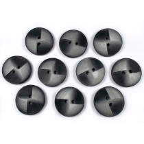 Windmill 2 Hole Buttons 15mm Grey Pack of 10
