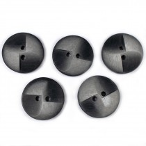 Windmill 2 Hole Buttons 23mm Grey Pack of 5