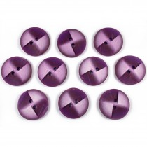 Windmill 2 Hole Buttons 23mm Purple Pack of 10