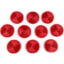 Windmill 2 Hole Buttons 23mm Red Pack of 10