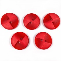 Windmill 2 Hole Buttons 23mm Red Pack of 5