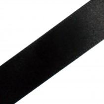 Berisfords Newlife Recycled Satin Ribbon 3mm wide Black 3 metre length